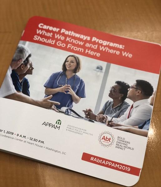 APPAM Institutional Member Forum - Career Pathways Programs